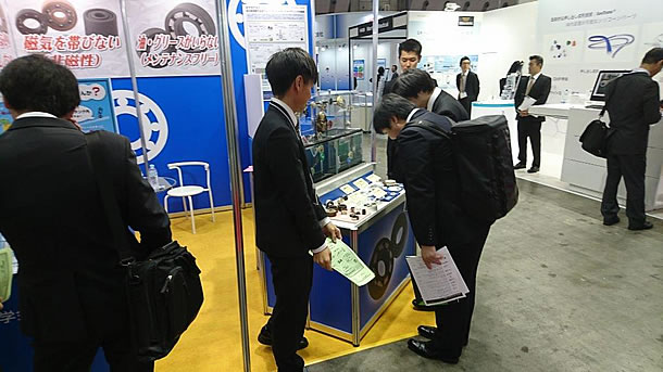 Kashima Bearings participated in MEDTEC. JAPAN 2