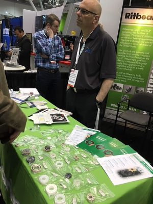 Kashima Bearings was Introduced at Design & Manufacturing 2018 in Boston3