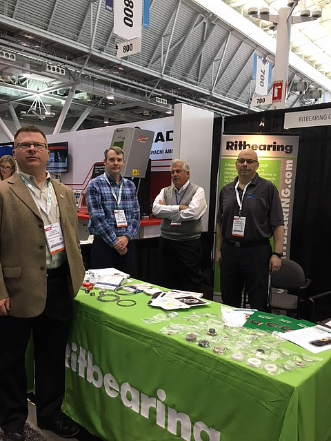 Kashima Bearings was Introduced at Design & Manufacturing 2018 in Boston2