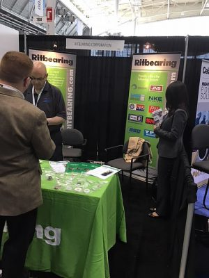 Kashima Bearings was Introduced at Design & Manufacturing 2018 in Boston1